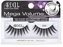 Profumi e cosmetici Ciglia finte - Ardell Mega Volume 253 Black