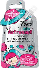 """Profumi e cosmetici Maschera con mentolo e ghiaccio spaziale """"Miss astronaut"""" - 7 Days Space Face"""