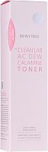 Profumi e cosmetici Tonico lenitivo viso alla calamina - Dewytree The Clean Lab AC Dew Calamine Toner