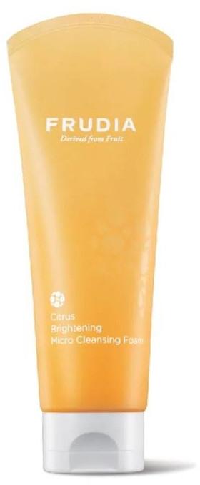 Schiuma viso con estratto di agrumi - Frudia Brightening Citrus Micro Cleansing Foam