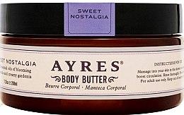 Profumi e cosmetici Olio corpo - Ayres Sweet Nostalgia Body Butter