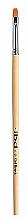 Profumi e cosmetici Pennello sintetico rettangolare per gel - IBD Gel Brush №6 Flat