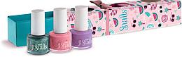 Profumi e cosmetici Set di smalti per unghie per bambini 3x7ml - Snails Mini Bebe Berry-Licious