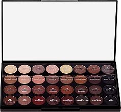 Profumi e cosmetici Palette di ombretti, 32 tonalità - Makeup Revolution Ultra 32 Shade Palette Flawless