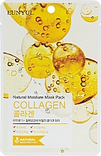 Profumi e cosmetici Maschera in tessuto idratante al collagene - Eunyul Natural Moisture Mask Pack Collagen