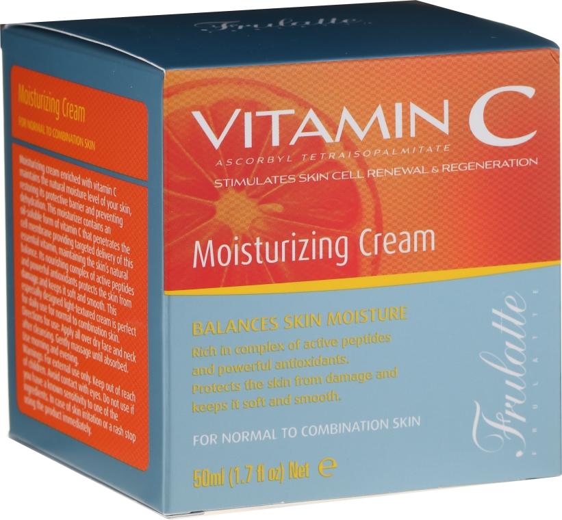 Crema idratante alla vitamina C. - Frulatte Vitamin C Moisturizing Cream