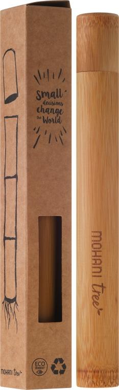 Custodia in bambù, per spazzolino da denti - Mohani — foto N1