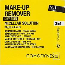 Profumi e cosmetici Salviette struccanti - Comodynes Make Up Remover Micellar Solution Easy Cleanser