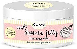 "Profumi e cosmetici Gelatina da doccia ""Wafer di miele dolce"" - Nacomi Shower Jelly Sweet Honey Wafers"