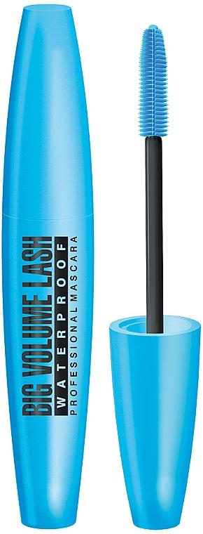 Mascara per ciglia impermeabile - Eveline Cosmetics Big Volume Lash Professional Mascara
