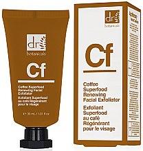 "Profumi e cosmetici Scrub viso ""Caffè"" - Dr. Botanicals Coffee Superfood Renewing Facial Exfoliator"