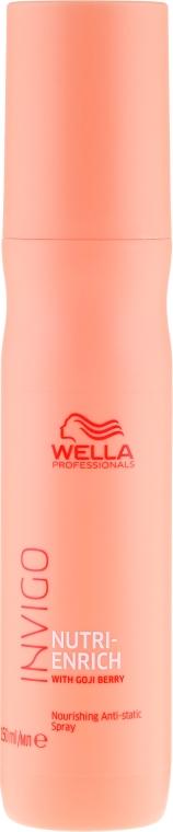 Spray antistatico per capelli - Wella Professionals Invigo Nutri-Enrich Nourishing Antistatic Spray