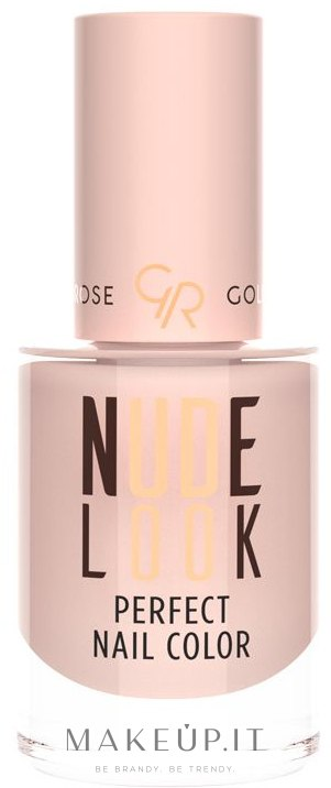 Smalto per unghie - Golden Rose Nude Look Perfect Nail Color — foto 01 - Powder Nude