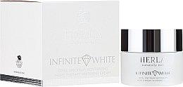 Profumi e cosmetici Crema sbiancante idratante da notte - Herla Infinite White Total Spectrum Moisturizing Night Therapy Whitening Cream