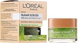 Profumi e cosmetici Scrub per il viso, zucchero purificante - L'Oreal Paris Sugar Scrubs