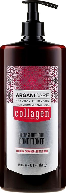 Balsamo capelli al collagene - Arganicare Collagen Reconstructuring Conditioner — foto N3