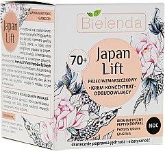 Profumi e cosmetici Crema riparatrice antirughe da notte 70+ - Bielenda Japan Lift Face Cream 70+