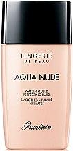 Profumi e cosmetici Fondotinta tonificante idratante - Guerlain Lingerie de Peau Aqua Nude