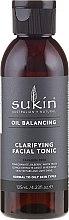 Profumi e cosmetici Tonico detergente viso - Sukin Oil Balancing Clarifying Facial Tonic