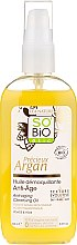 Profumi e cosmetici Olio detergente struccante - So'Bio Etic Precieux Argan Anti-Aging Cleansing Oil