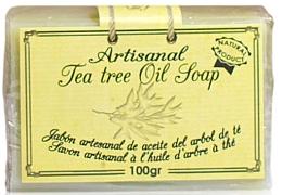 Profumi e cosmetici Sapone naturale con olio di melaleuca - Arganour Natural Soap with Tea Tree Oil