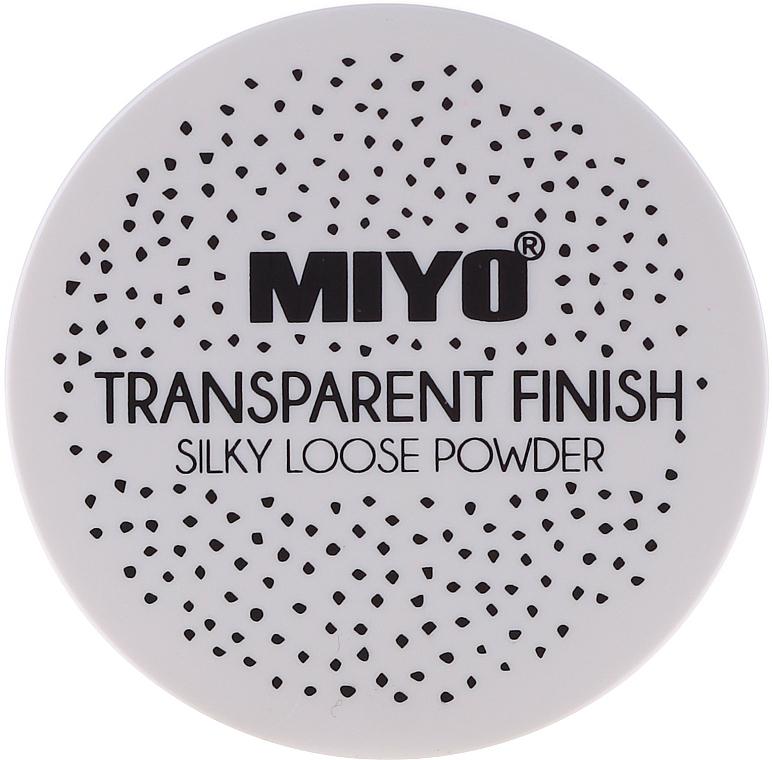 Cipria in polvere - Miyo Transparent Finish Powder