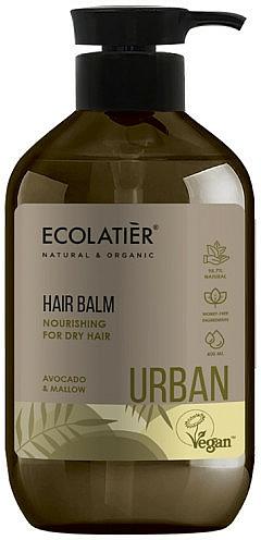 "Balsamo nutriente per capelli secchi ""Avocado e malva"" - Ecolatier Urban Hair Balm — foto N1"