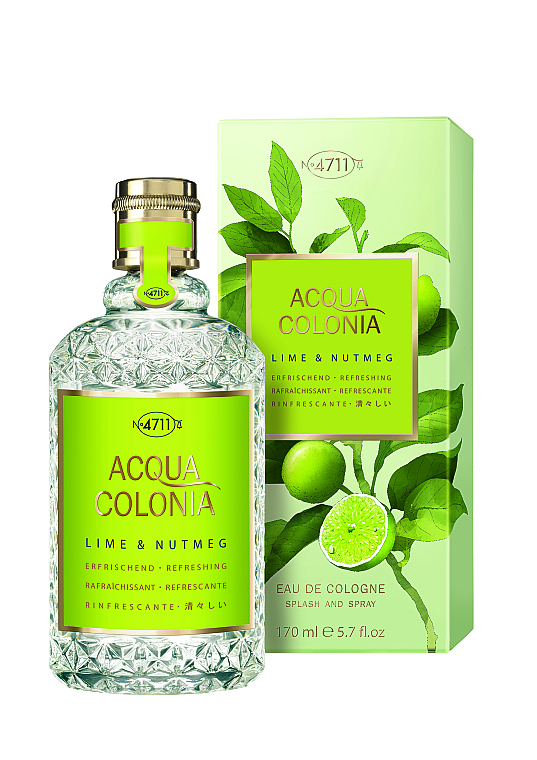 Maurer & Wirtz 4711 Aqua Colognia Lime & Nutmeg - Colonia