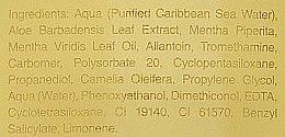 Gel di aloe vera con menta - Ligne St Barth Aloe Vera Gel With Mint — foto N3