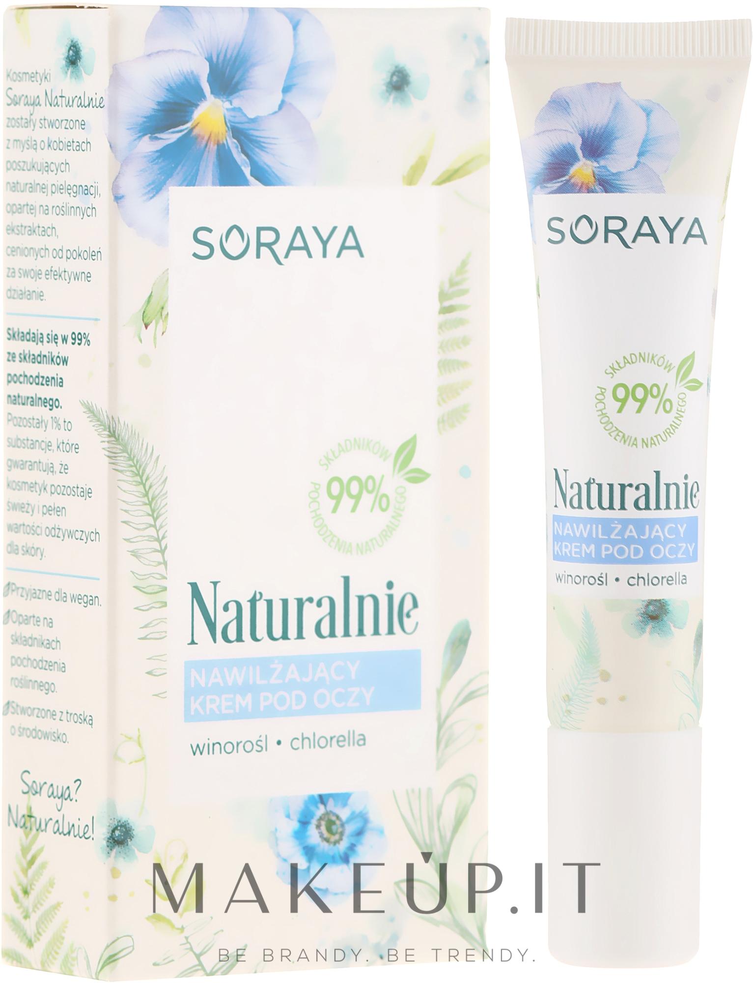 Crema idratante contorno occhi - Soraya Moisturizing Eye Cream — foto 15 ml