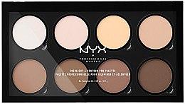 Profumi e cosmetici Palette contouring - NYX Professional Makeup Highlight & Contour Pro Palette