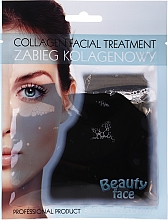 Profumi e cosmetici Terapia al collagene con cioccolato - Beauty Face Collagen Hydrogel Mask