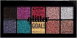 Profumi e cosmetici Palette glitter cremosa per viso e corpo - NYX Professional Glitter Goals