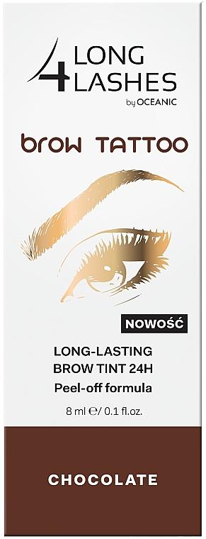 Tinta permanente per sopracciglia - Long4Lashes Brow Tattoo Long Lasting Brow Tint 24h