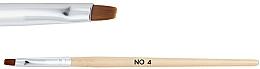 Profumi e cosmetici Pennello in legno per gel n. 4 - NeoNail Professional