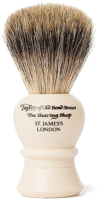Pennello da barba, P2234, beige - Taylor of Old Bond Street Shaving Brush Pure Badger size M — foto N1