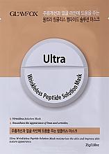 Profumi e cosmetici Maschera in tessuto peptidica antirughe per pelli mature - Glamfox Ultra Wrinkleless Peptide Solution Mask