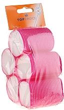 Profumi e cosmetici Bigodini in velcro 5 pezzi, 44 mm, 3455 - Top Choice