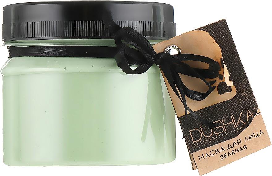 "Maschera viso ""Verde"" - Dushka"