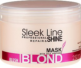 Profumi e cosmetici Maschera capelli - Stapiz Sleek Line Blush Blond Mask