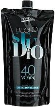 Profumi e cosmetici Ossidante 12% - L'Oreal Professionnel Blond Studio Creamy Nutri-Developer Vol.40