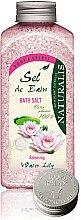 Profumi e cosmetici Sale per il bagno - Naturalis Sel de Bain Water Lily Bath Salt