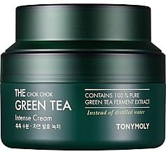 Profumi e cosmetici Crema idratante intensiva con estratto di tè verde - Tony Moly The Chok Chok Green Tea Intense Cream