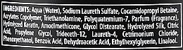 """Shampoo ristrutturante per capelli danneggiati """"Proteina della cheratina"""" - Black Professional Line Keratin Protein Shampoo — foto N3"""