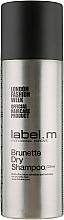 Profumi e cosmetici Shampoo secco per capelli bruni - Label.m Brunette Dry Shampoo