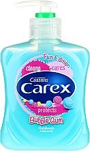 Profumi e cosmetici Sapone liquido antibatterico - Carex Bubble Gum Hand Wash