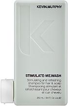 Profumi e cosmetici Shampoo rinfrescante, per uomo - Kevin.Murphy Stimulate-Me Wash
