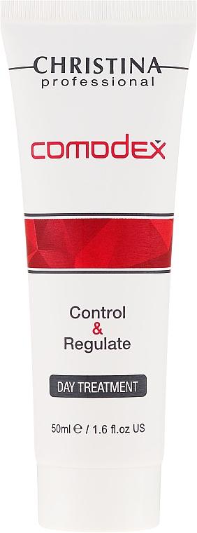 Siero viso per la pelle grassa e problematica - Christina Comodex Control&Regulate Day Treatment — foto N2