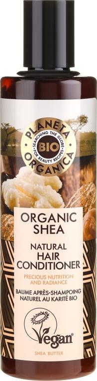 Balsamo nutriente per capelli - Planeta Organica Organic Shea Natural Hair Conditioner