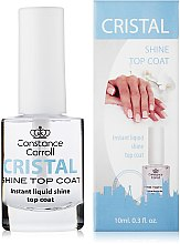 Profumi e cosmetici Top coat - Constance Carroll Cristal Shine Top Coat